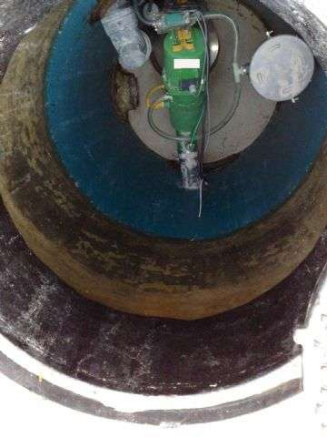 A Vacuum Sewerage Pit
